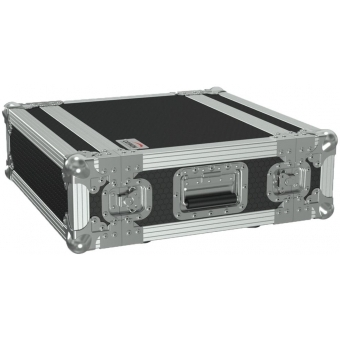 "FCX103MK2/B - 19"" flightcase - 3HE - 360mm depth - 19"" mounting profile on front & rear - Black version"
