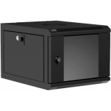 "NPR404/B - Wall mounted 9.5"" / 10.5"" cabinet - 4 units - 420mm depth - Black"