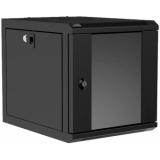"NPR406/B - Wall mounted 9.5"" / 10.5"" cabinet - 6 units - 420mm depth - Black"