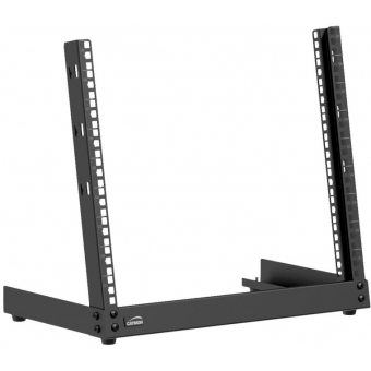 TPR309/B - Desktop open frame rack - 9 units - Black