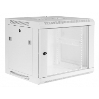 "WPR409/W - 19"" wall mount rack - 9 units - 450mm depth - White"