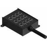 MSB112.0 - Multi stage block - 12 x XLR female