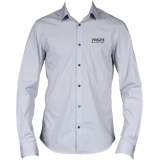 PROMO6122 - PROCAB promotion shirt grey with embroidered logo - MEDIUM