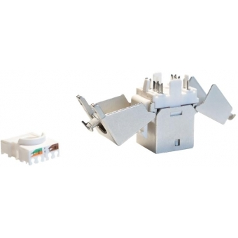 VCK526/S - Keystone CAT6 jack IDC termination 180° - Shielded