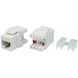 VCK526/U - Keystone CAT6 jack IDC termination 180° - Unshielded