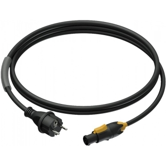 PRP433/3 - Power cable - schuko male - powerCON TRUE1 female - 3 x 1.5 mm² - 3 meter