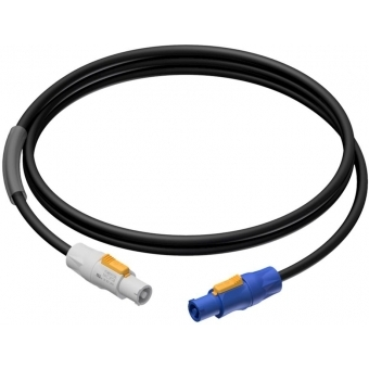 PRP440/3 - Power cable - powerCON power-in - power-out - 3 x 2.5 mm² - 3 meter