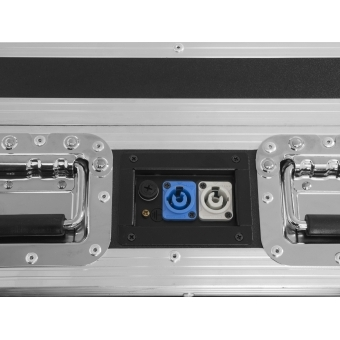 ROADINGER Flightcase 4x AKKU BAR-6 Glow QCL Flex QuickDMX with c #5
