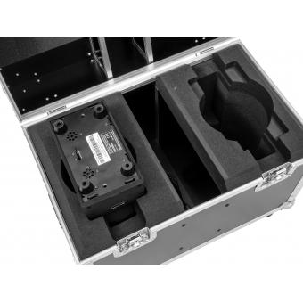 ROADINGER Flightcase 2x LED TMH-41 #4
