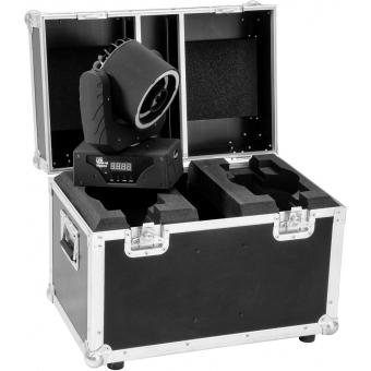 ROADINGER Flightcase 2x LED TMH-41 #5