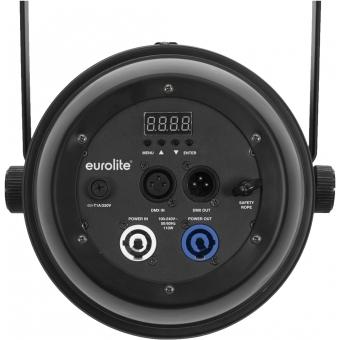 EUROLITE LED PAR-64 COB 3000K 100W Zoom bk #2