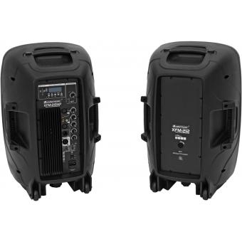 OMNITRONIC XFM-212AP Active 2-Way Speaker Set with Wireless Micr #2