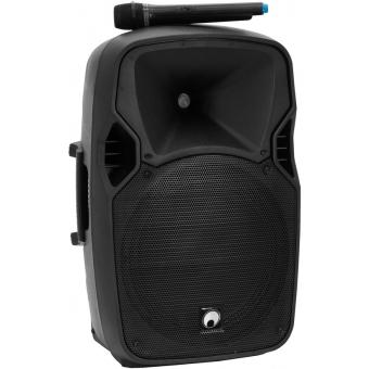 OMNITRONIC XFM-212AP Active 2-Way Speaker Set with Wireless Micr #4