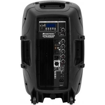 OMNITRONIC XFM-212AP Active 2-Way Speaker Set with Wireless Micr #6