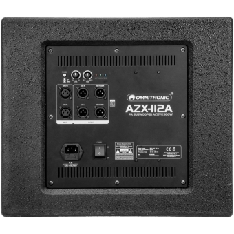 OMNITRONIC AZX-112A PA Subwoofer active 300W #4
