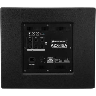 OMNITRONIC AZX-115A PA Subwoofer active 400W #4