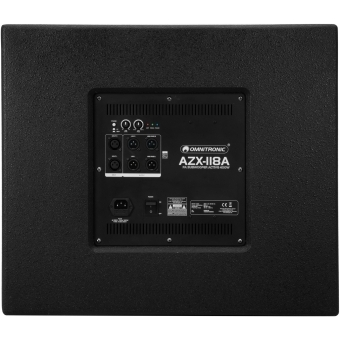 OMNITRONIC AZX-118A PA Subwoofer active 400W #4