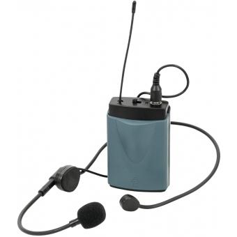 OMNITRONIC WAMS-65BT Bodypack Transmitter incl. Headset