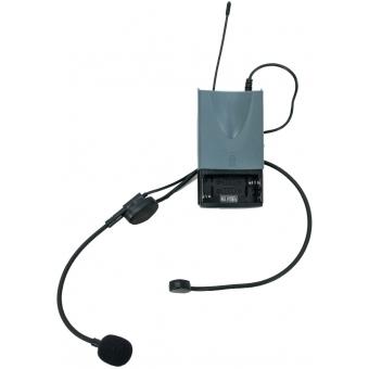 OMNITRONIC WAMS-65BT Bodypack Transmitter incl. Headset #2