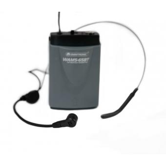 OMNITRONIC WAMS-65BT Bodypack Transmitter incl. Headset #4