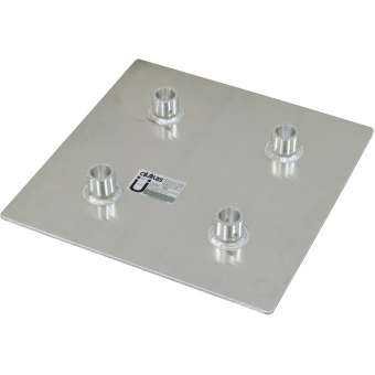 ALUTRUSS QUADLOCK QL-ET End Plate QQGP 50cm x 50cm #1