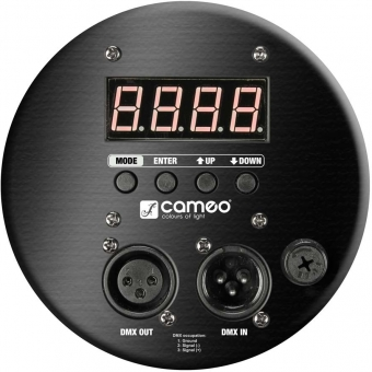 Cameo PAR 64 CAN TRI 3W BS 18 x 3 W TRI colour LED RGB PAR light in black housing #4