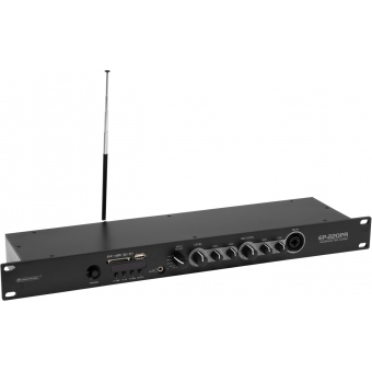 OMNITRONIC EP-220PR Preamplifier with MP3 Player and FM Radio #2