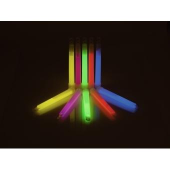 EUROPALMS Glow rod, blue, 15cm,  12x #3