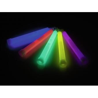 EUROPALMS Glow rod, blue, 15cm,  12x #4
