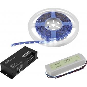 EUROLITE Set LED Strip RGBWW 5m + DMX Controller + Transformer 2