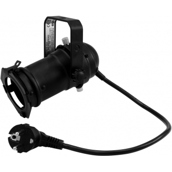 EUROLITE Set PAR-16 Spot GU-10 black + GU-10 230V LED SMD 7W 640 #2
