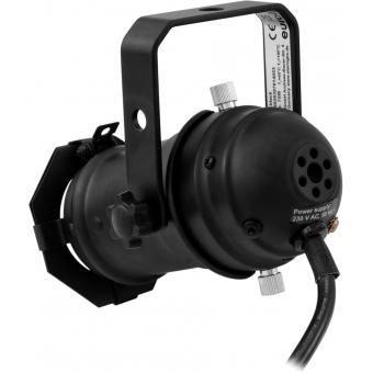 EUROLITE Set PAR-16 Spot GU-10 black + GU-10 230V LED SMD 7W 640 #3