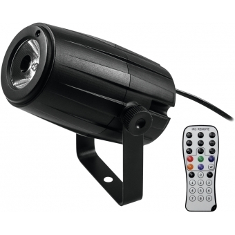 EUROLITE Mirror Ball 30cm with motor + LED PST-5 QCL Spot bk #6