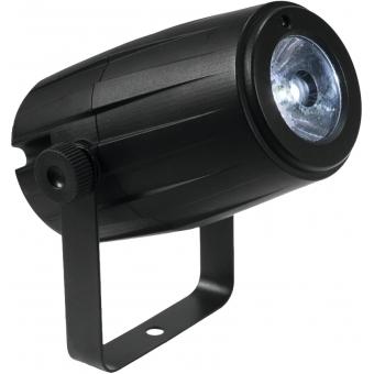 EUROLITE Mirror Ball 30cm with motor + LED PST-5 QCL Spot bk #9
