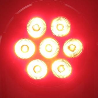 Cameo FLAT PRO 7 7 x 10 W FLAT LED RGBWA PAR light in black housing #6
