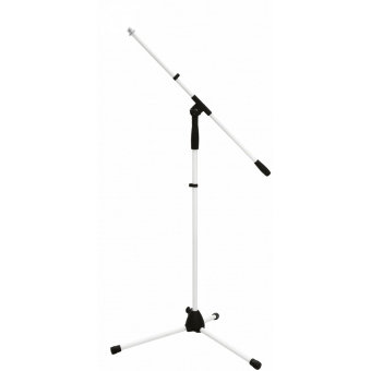 OMNITRONIC Microphone Tripod MS-1W with Boom Arm white #1