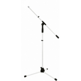 OMNITRONIC Microphone Tripod MS-1W with Boom Arm white