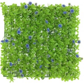 EUROPALMS Grass mat, artificial, green-purple, 25x25cm #2