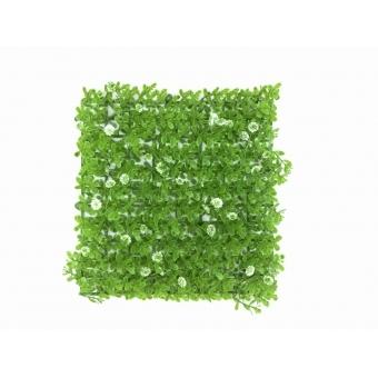 EUROPALMS Grass mat, artificial, green-white, 25x25cm #2
