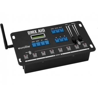 EUROLITE DMX AIO Recorder, Merger, Artnet Node, Signal Converter