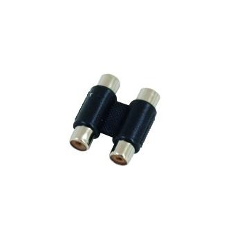 OMNITRONIC Adapter 2xRCA(F)/2xRCA(F) 10x