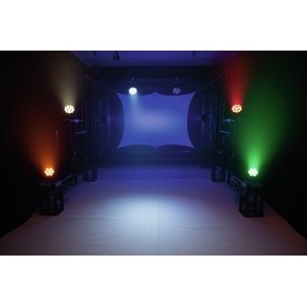 EUROLITE LED 7C-7 Silent Slim Spot #10