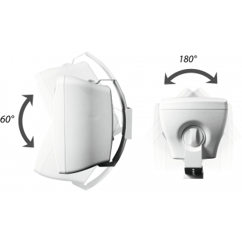 OMNITRONIC OD-8T Wall Speaker 100V black 2x #3