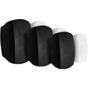 OMNITRONIC OD-8T Wall Speaker 100V black 2x #4