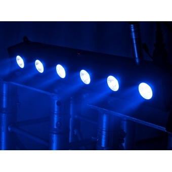 EUROLITE LED BAR-6 QCL RGB+UV Bar #6