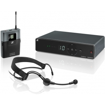 Sistem wireless microfon Sennheiser cu headset XSW 1-ME3