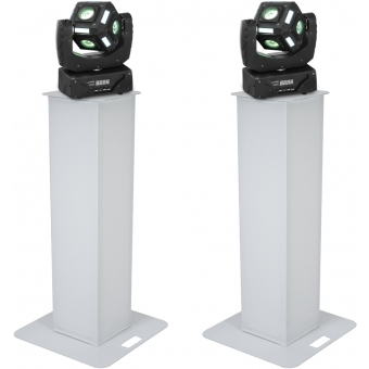 EUROLITE Set 2x Stage Stand 100cm + 2x LED MFX-3 Action Cube