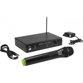 OMNITRONIC VHF-101 Wireless Mic System 207.55MHz