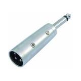 OMNITRONIC Adapter XLR(M)/Jack(M) mono
