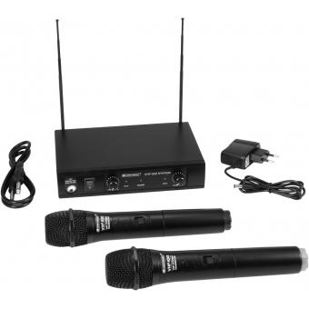 OMNITRONIC VHF-102 Wireless Mic System 209.80/205.75MHz